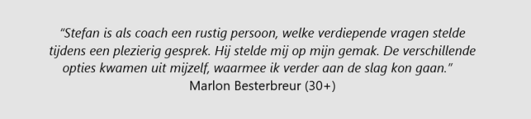 testimonial Marlon